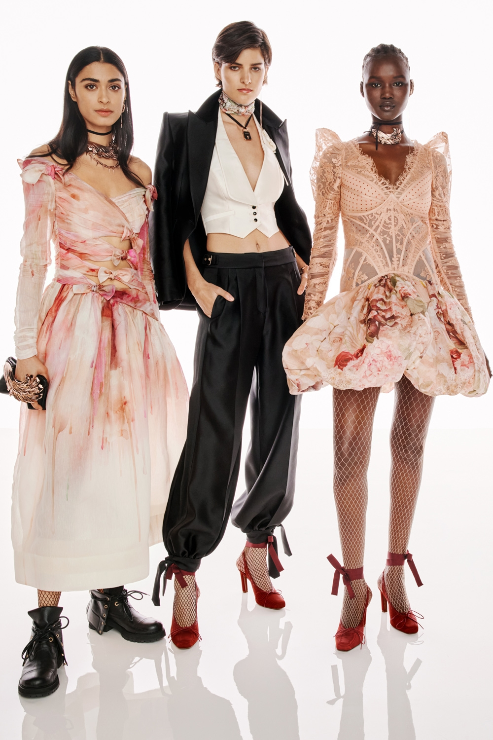 BEHIND THE SHOW SPRING READY TO WEAR 2022: Sophie McFadden, Astrid Holler and Abeny Nhial