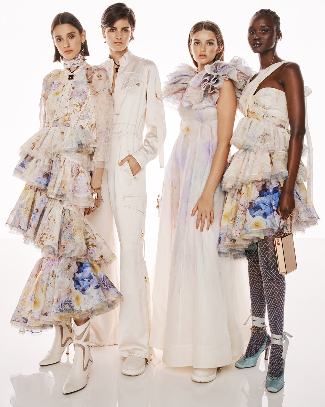 BEHIND THE SHOW SPRING READY TO WEAR 2022: Aleyna Fitzgerald, Astrid Holler, Stella Hanan and Abeny Nhial