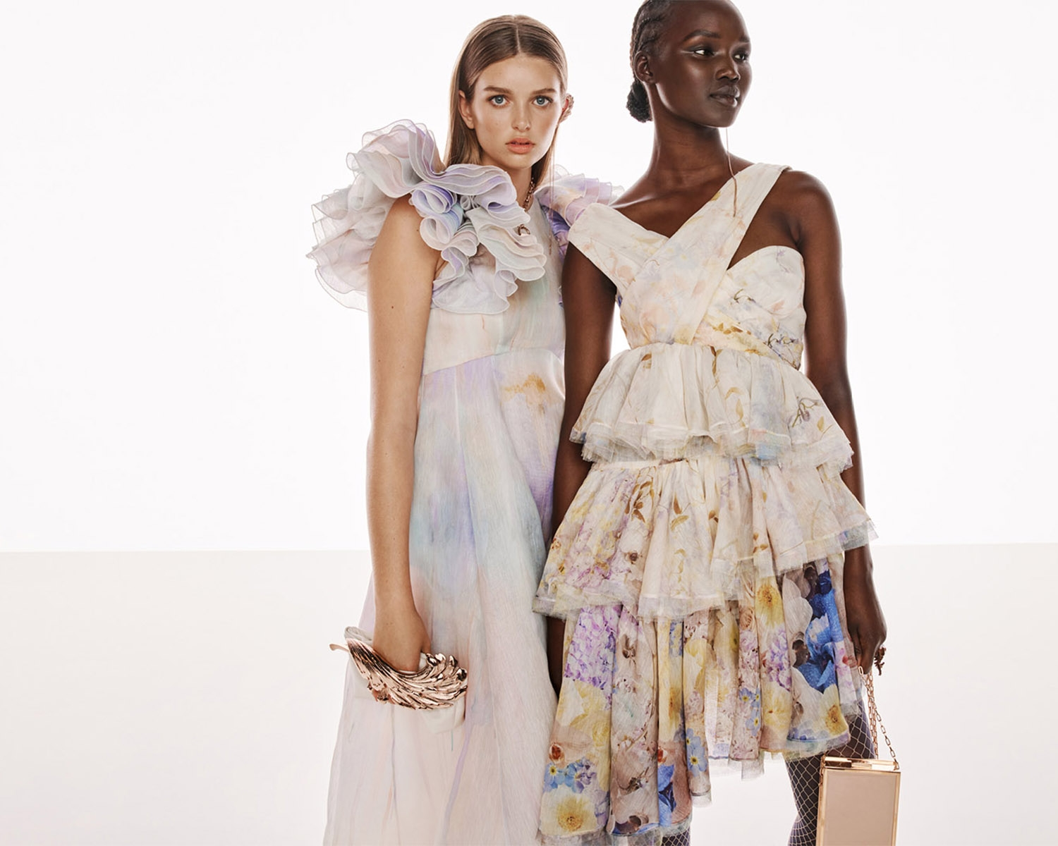 BEHIND THE SHOW SPRING READY TO WEAR 2022: Stella Hanan and Abeny Nhial