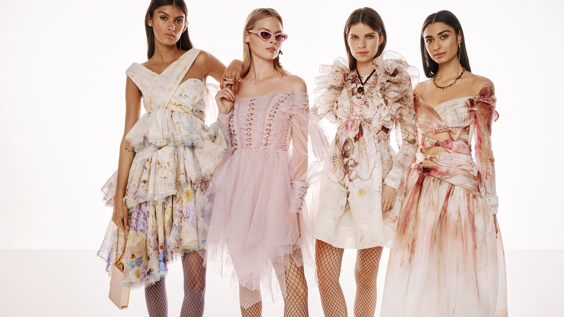 BEHIND THE SHOW SPRING READY TO WEAR 2022: Rossana Latallada, Holly Magson, Stella Hanan and Sophie McFadden