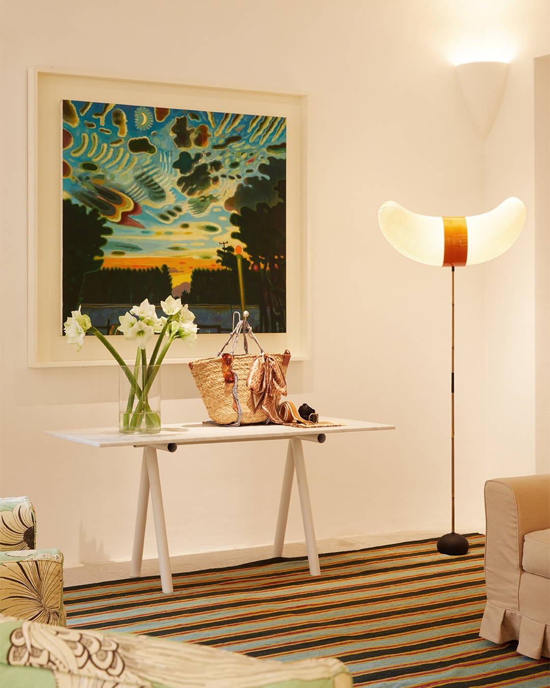 Artworks in store, at our new Rome Boutique