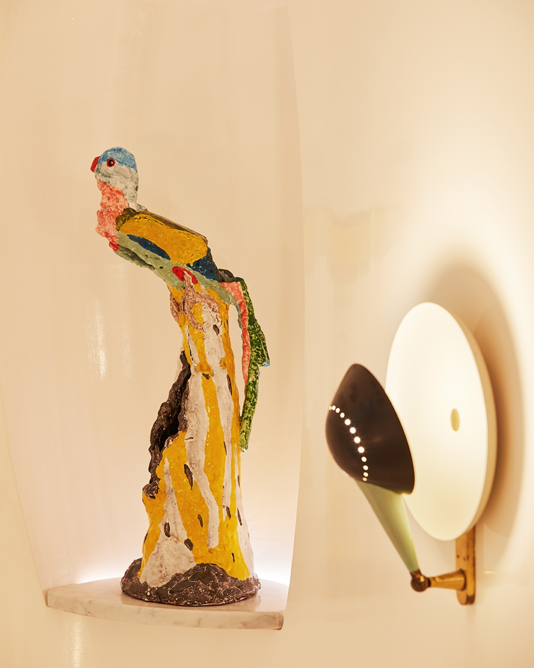 Peter Cooley sculpture in our Rome store