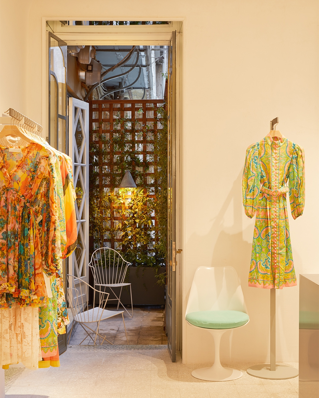 New season collection in store at Zimmermann Rome