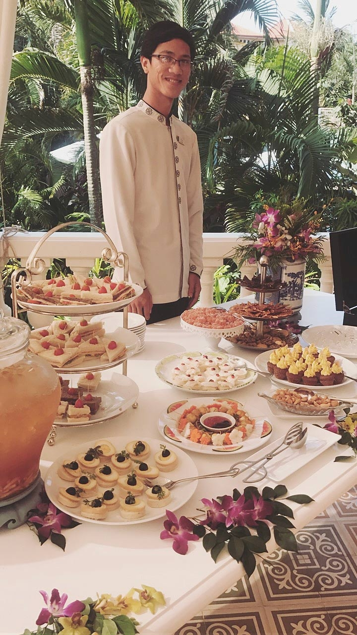 A TOUCH OF THE OLD WORLD, AFTERNOON TEA AT LA VERANDA RESORT