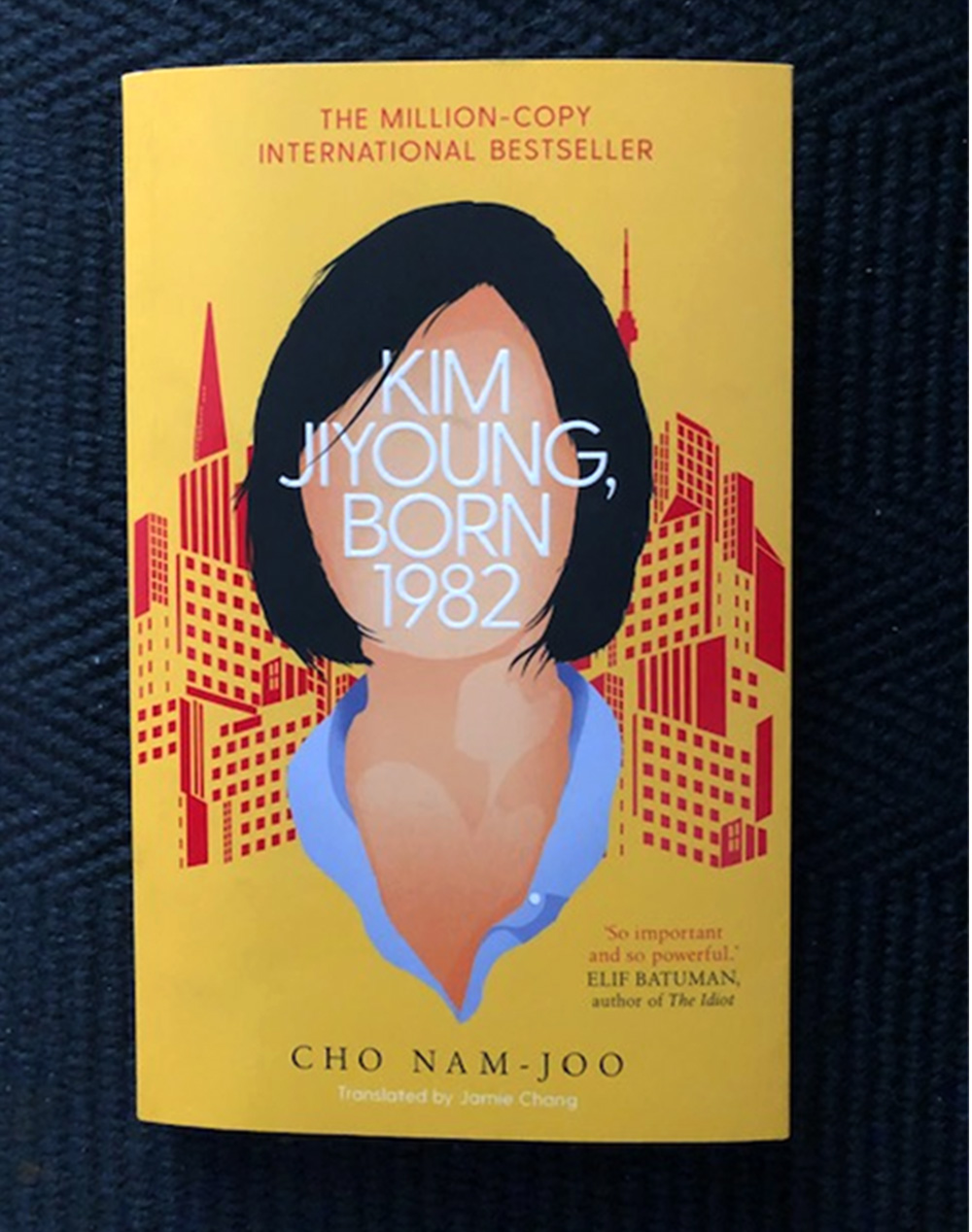 Kim Jiyoung Born 1982 by Cho Nam-Joo