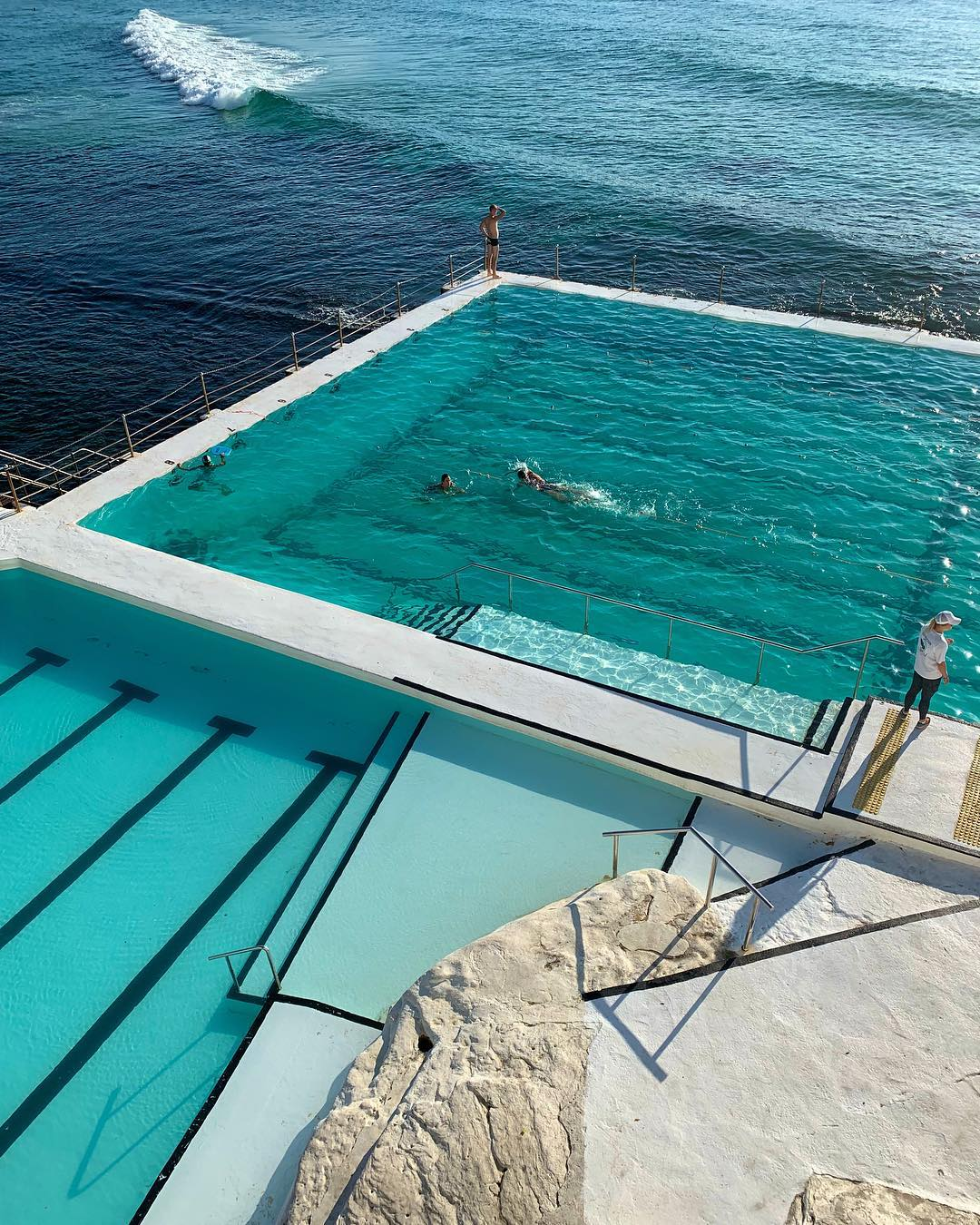 The saltwater pools at Bondi Icebergs