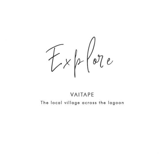 Where to explore in Bora Bora: Vaitape – The local village across the lagoon