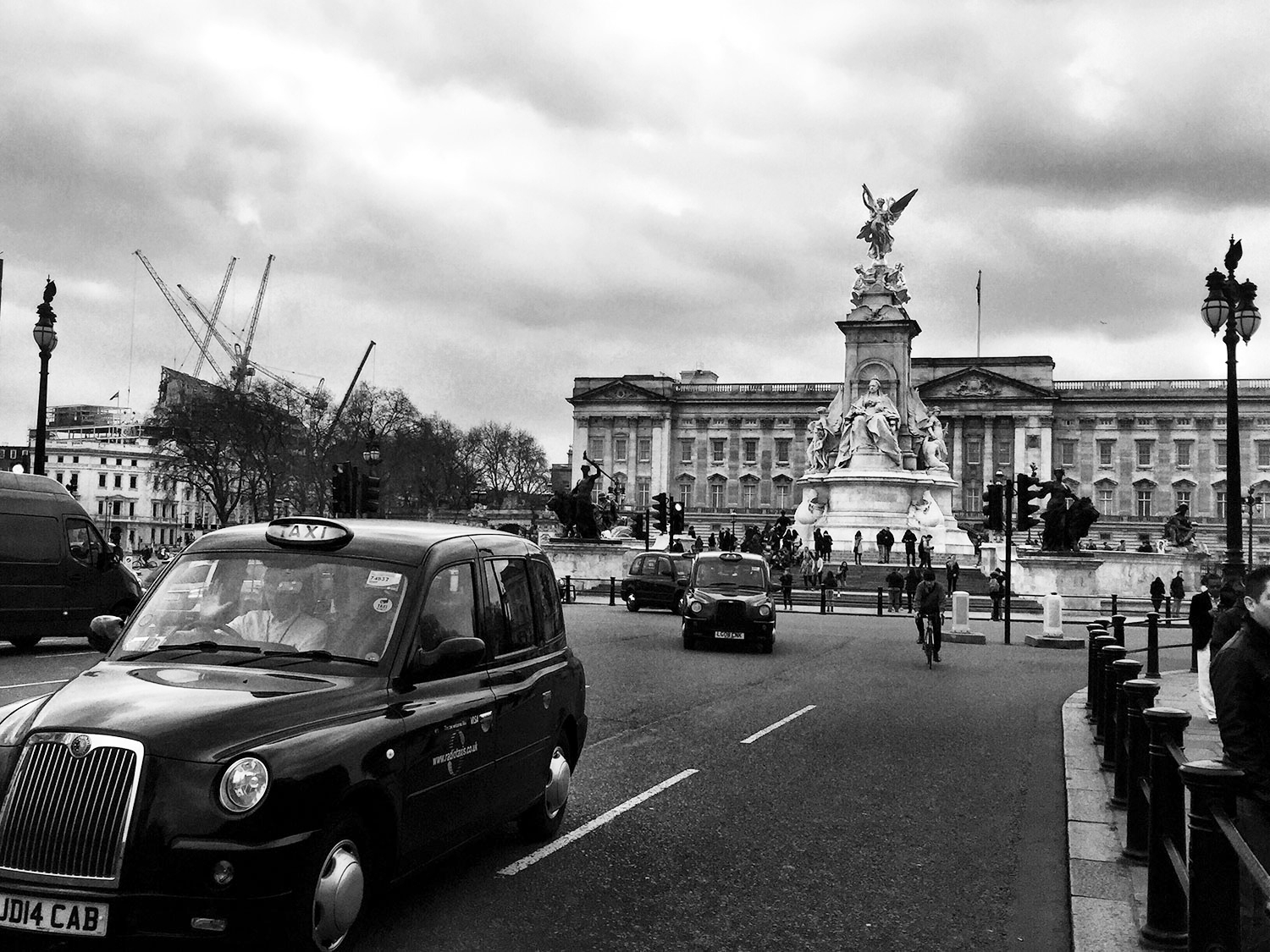 Buckingham Palace. March 2016