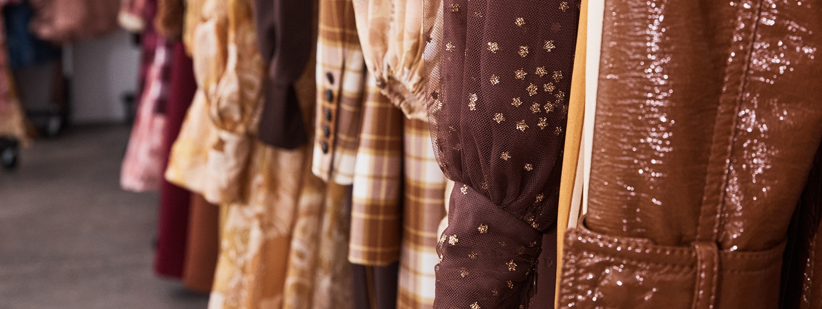 Detail image of the Fall 2021 collection
