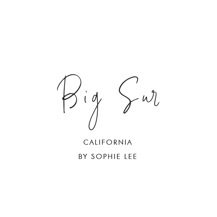Big Sur, California – By Sophie Lee