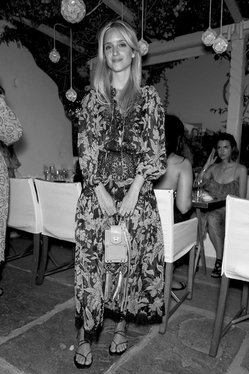 Charlotte Groenveld at the Zimmermann x Net-A-Porter capsule launch weekend. July 2016