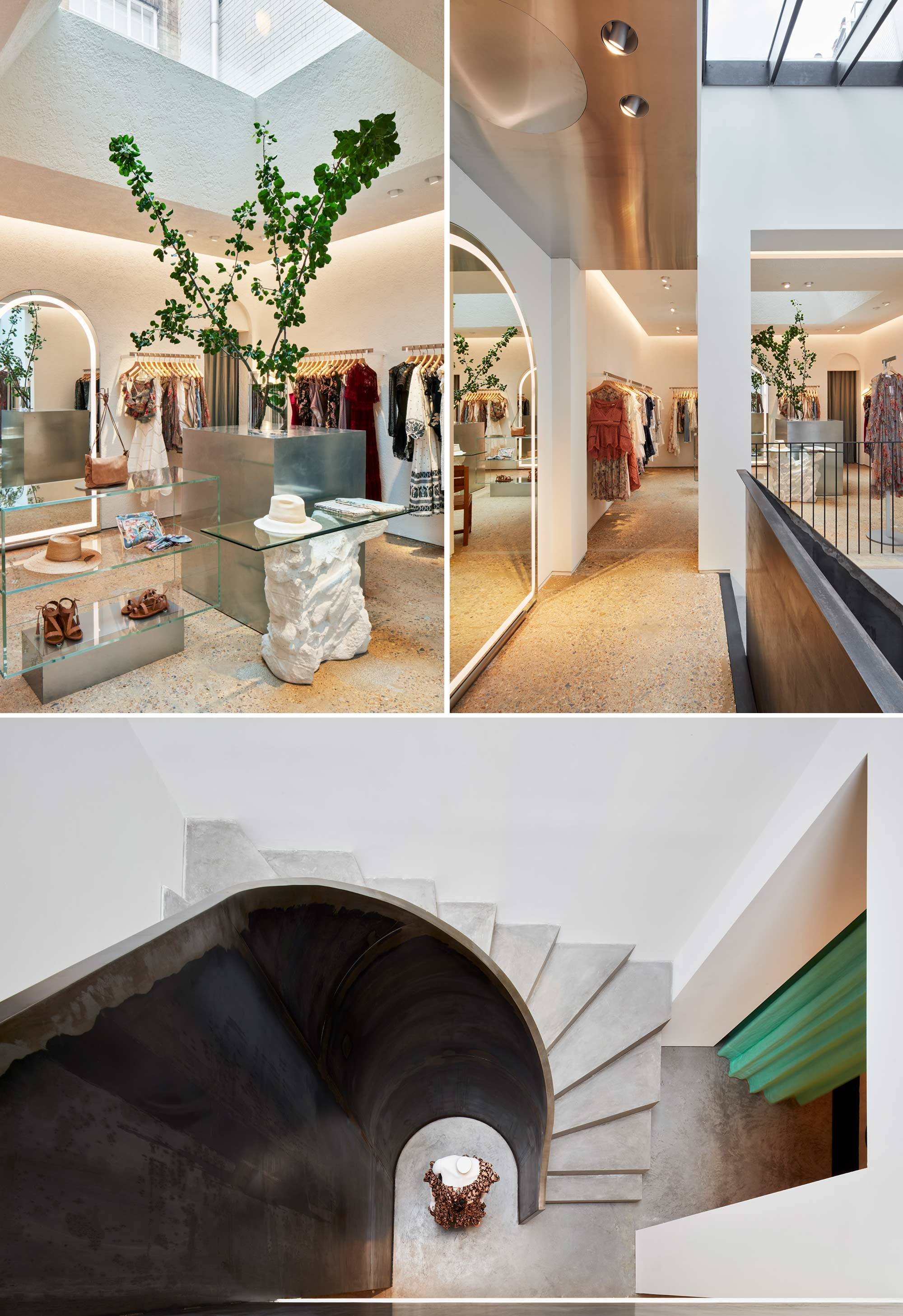 Interior details of our Mayfair store