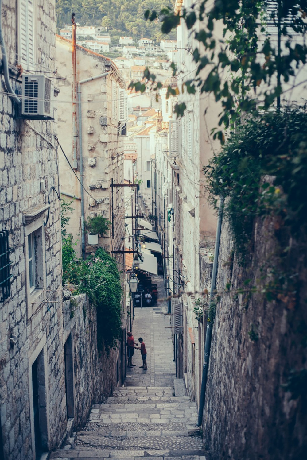 Exploring the stone streets of Dubrovnik
