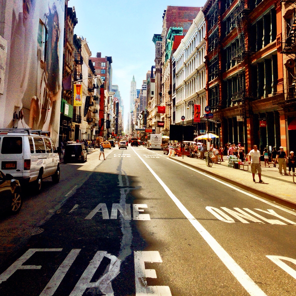 The streets of Soho