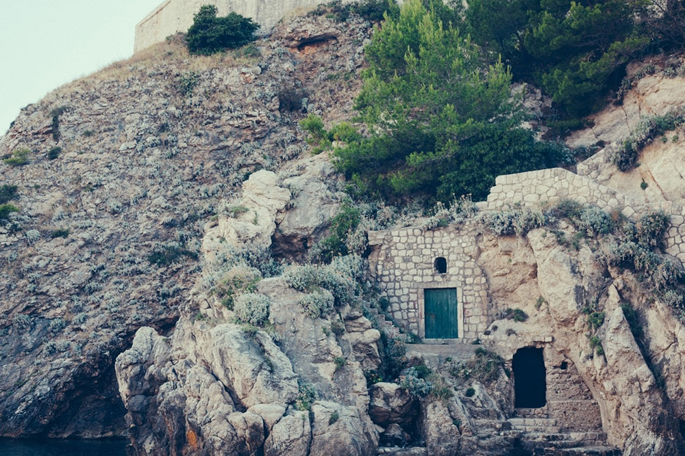 Little doors built into the sides of mountains – Dubrovnik