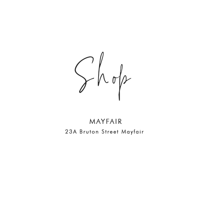 Where to Shop in London: Mayfair – 23A Bruton Street, Mayfair