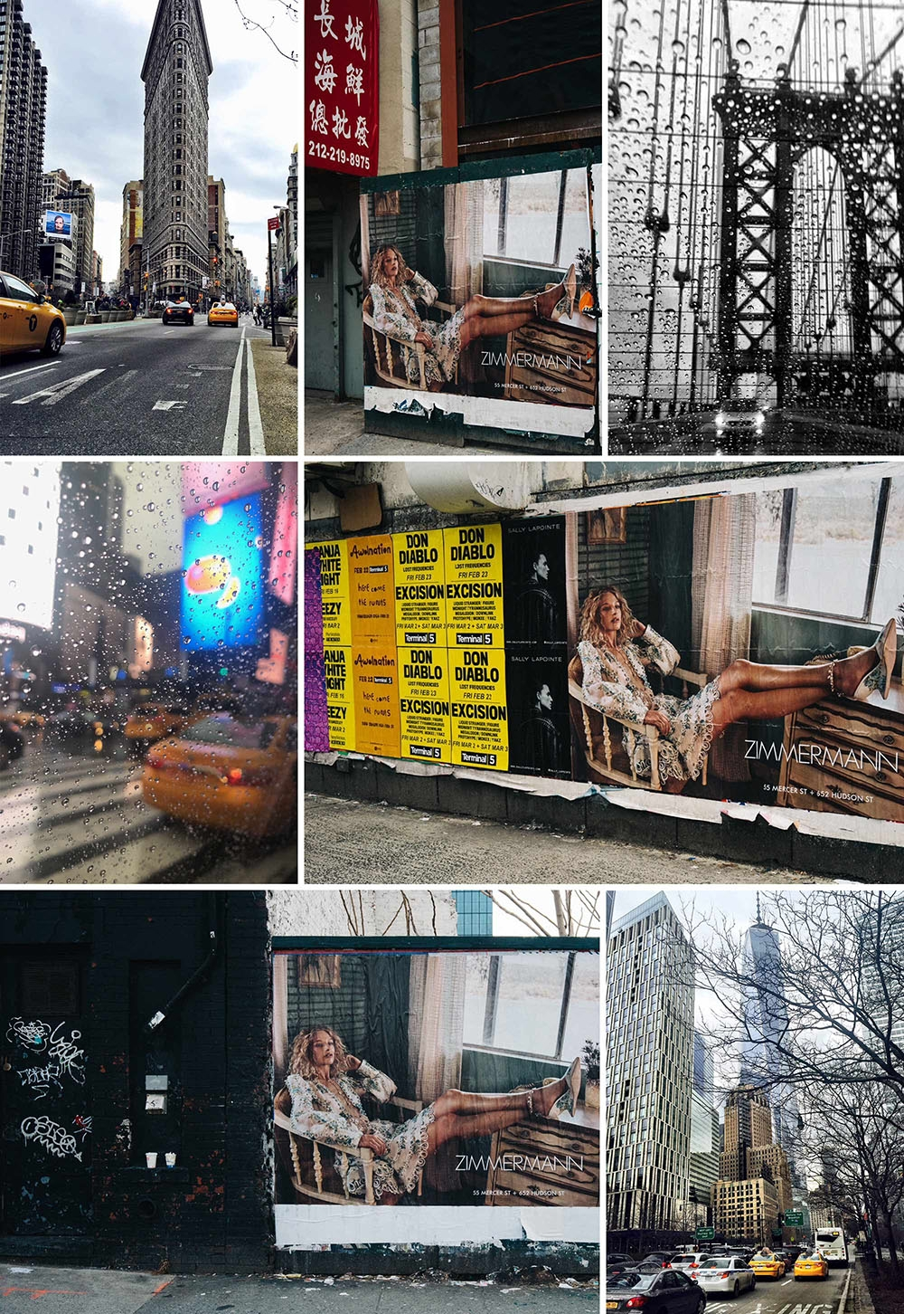 Zimmermann Out and About in New York Soho