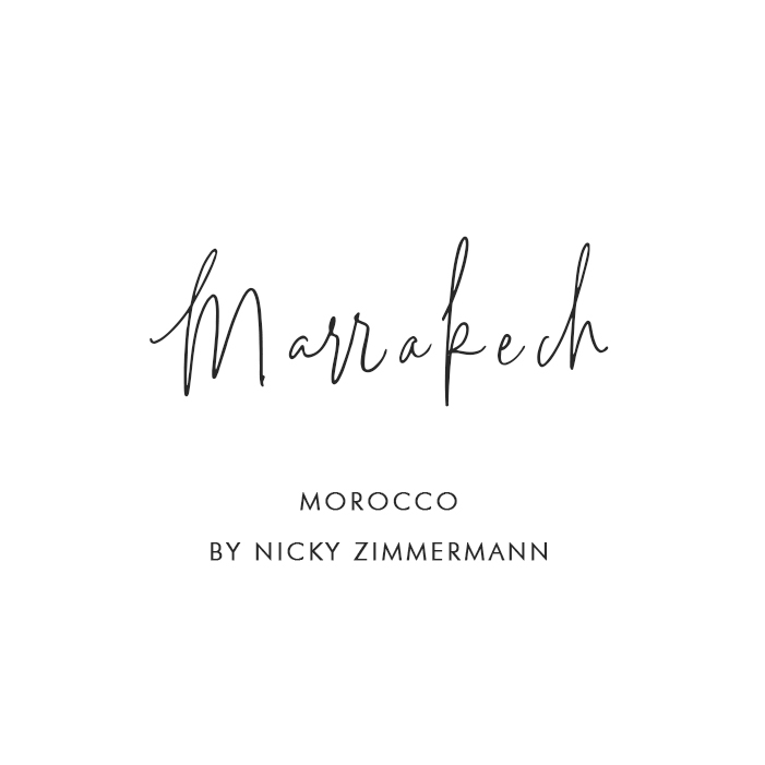 Marrakech, Morocco – By Nicky Zimmermann
