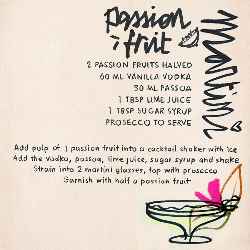 Our latest drink recipe Belle collins