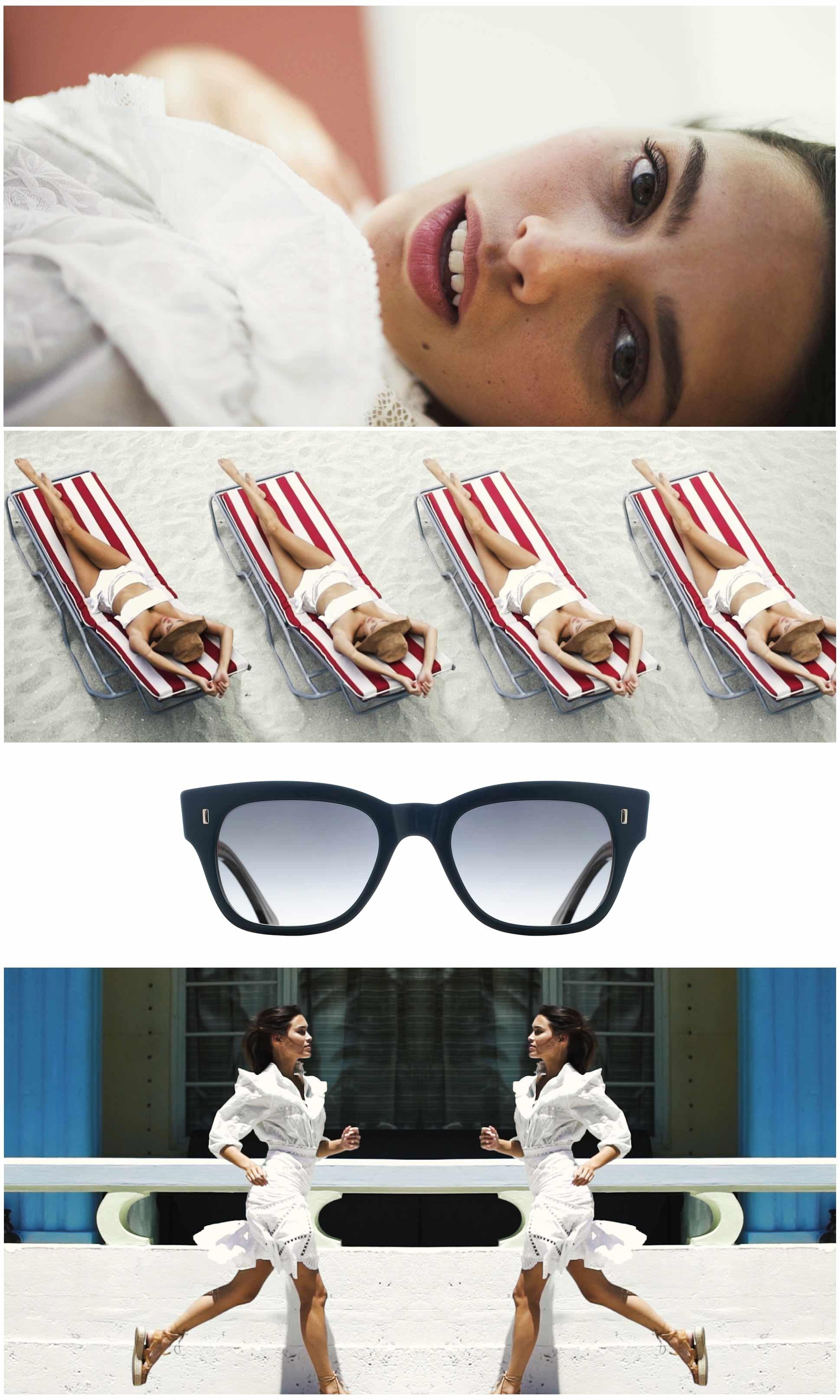 The Miami Sunglasses campaign images
