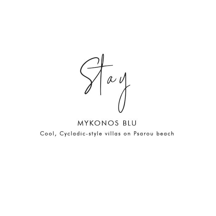 Where to Stay in Mykonos: Mykonos Blu – Cool, Cycladic style villas on Psarou beach