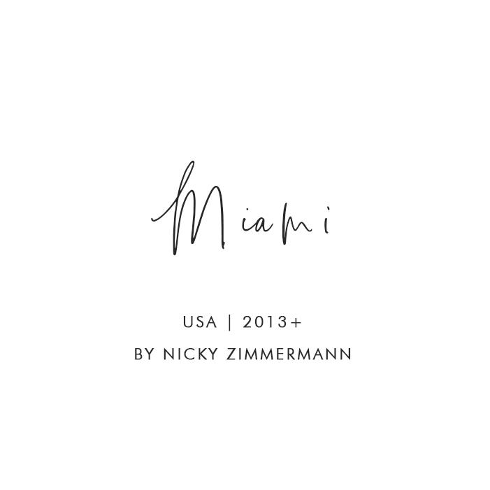 Miami, USA, 2013 – By Nicky Zimmermann