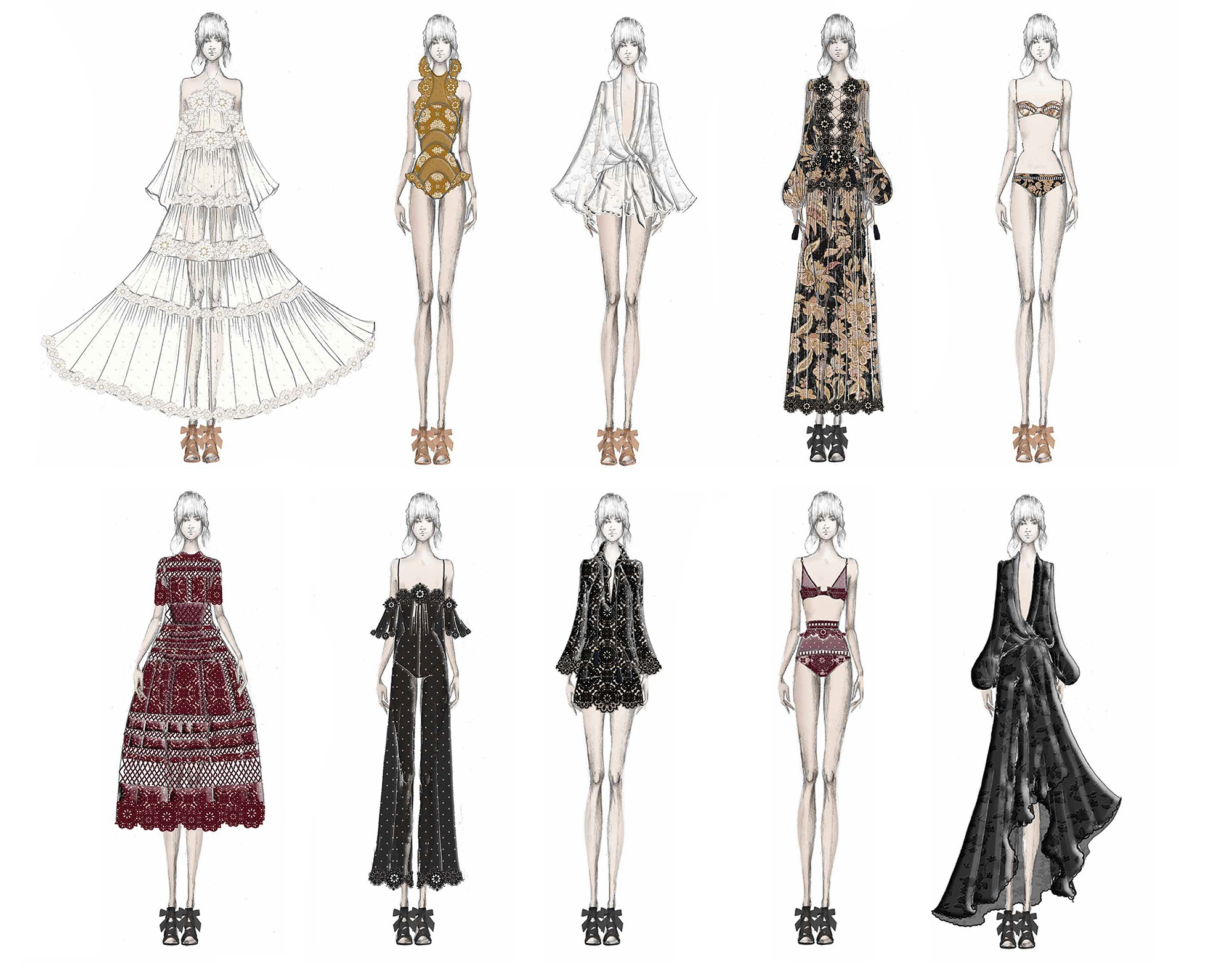 Zimmermann's Capsule Collection for Net-a-Porter Ten Years of Good Times