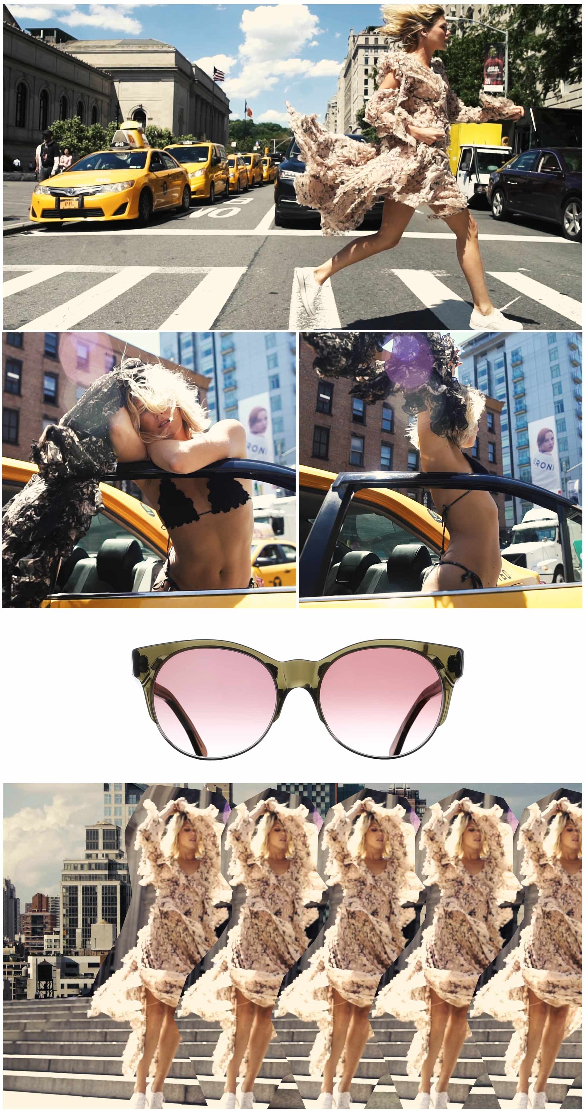 New York sunglasses campaign images