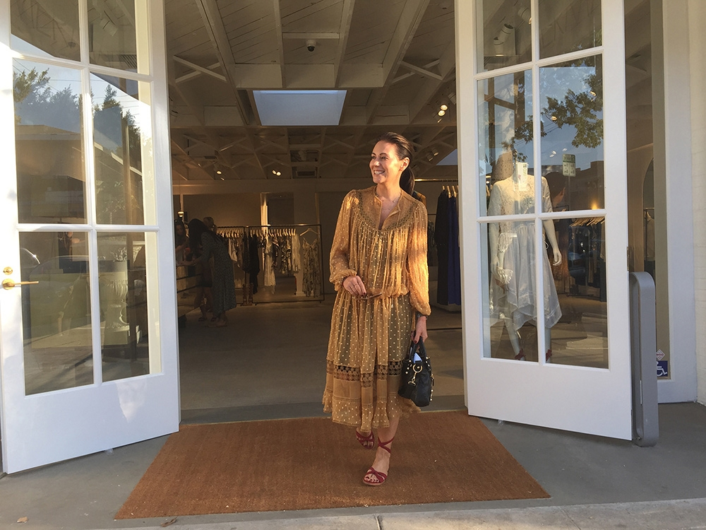 Nicky Zimmermann at our Melrose Place store