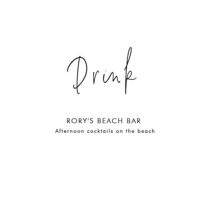 Where to Drink in PHÚ QUỐC: Rory's Beach Bar – Afternoon cocktails on the beach