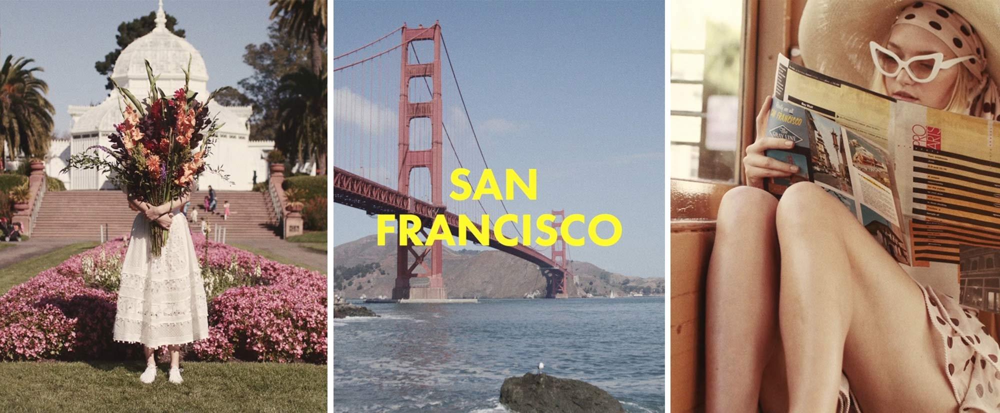 San Francisco with Gemma Ward