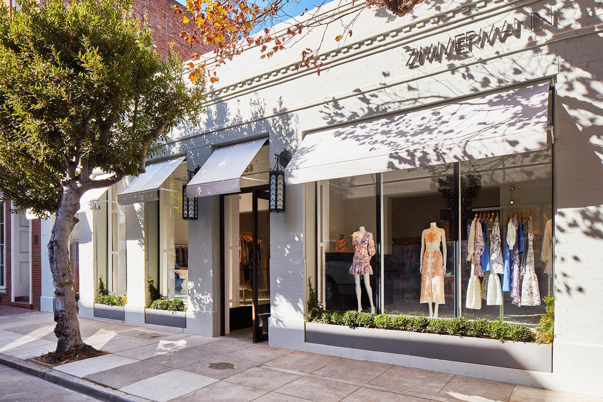 Zimmermann San Francicso store front