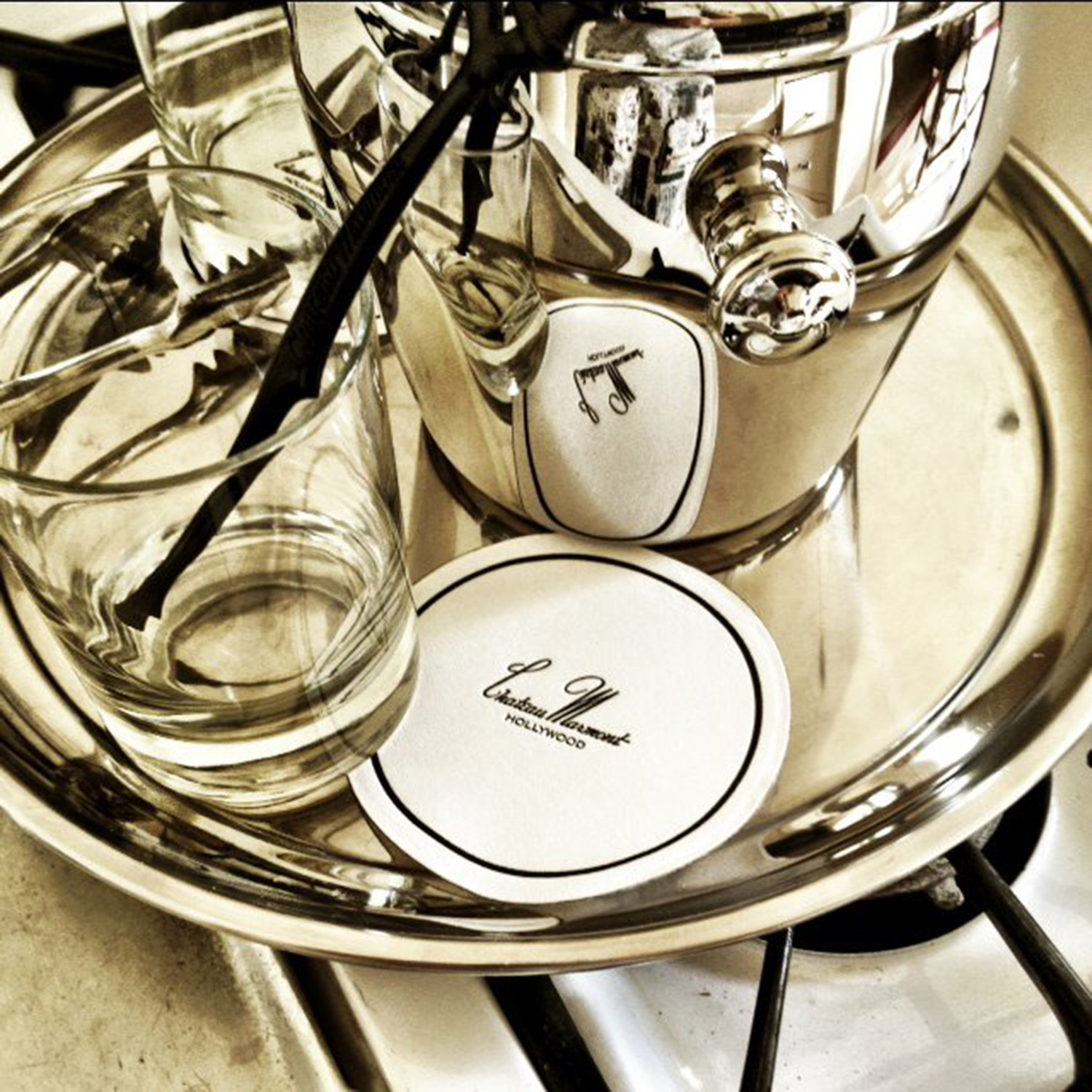 Silverware at the Chateau, July 2012