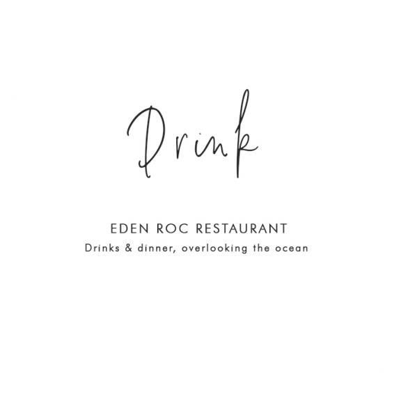 Where to Drink in St Barths: Eden Roc Restaurant – Drinks & dinner, overlooking the ocean
