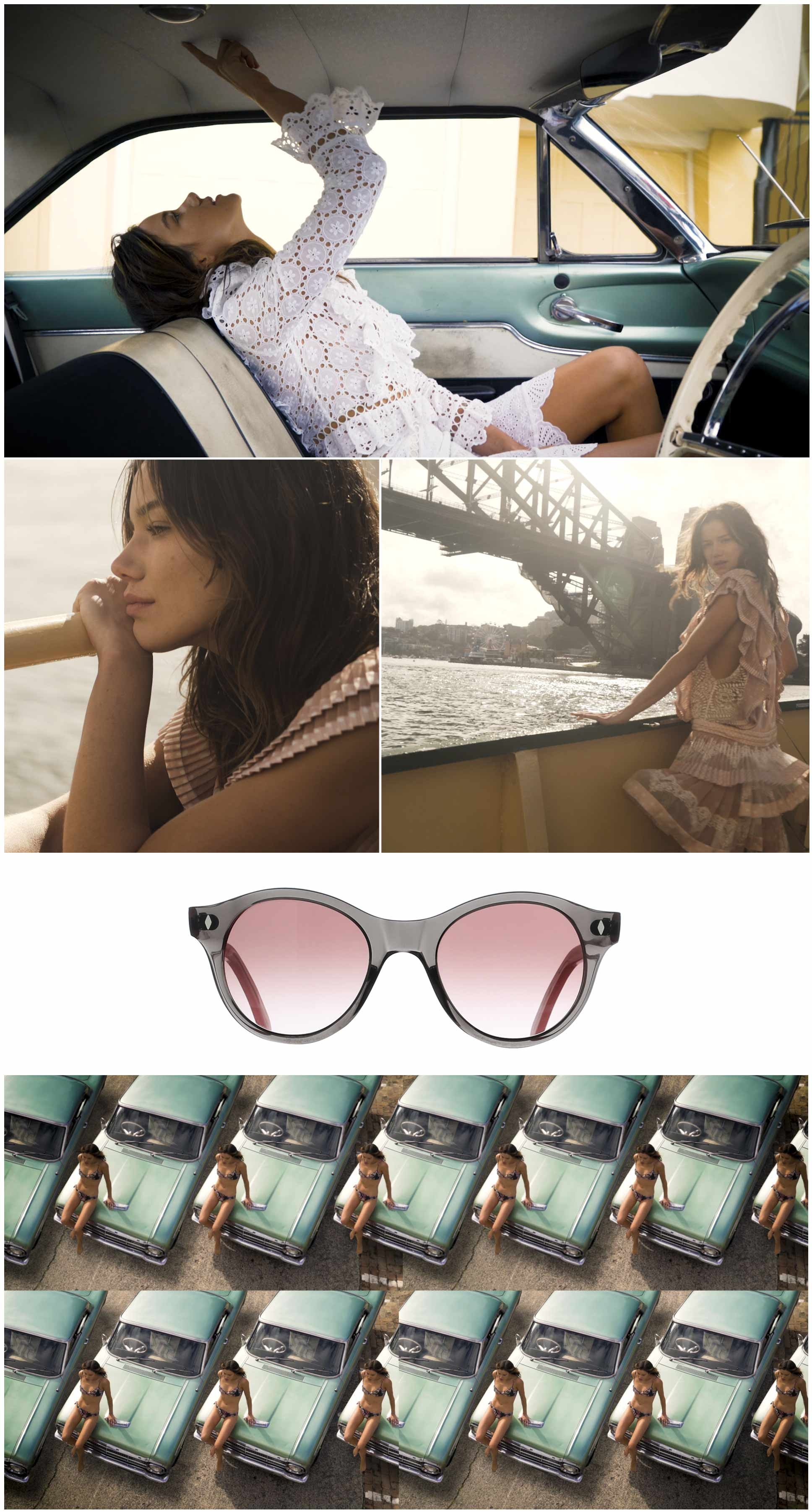 Sydney sunglasses campaign images