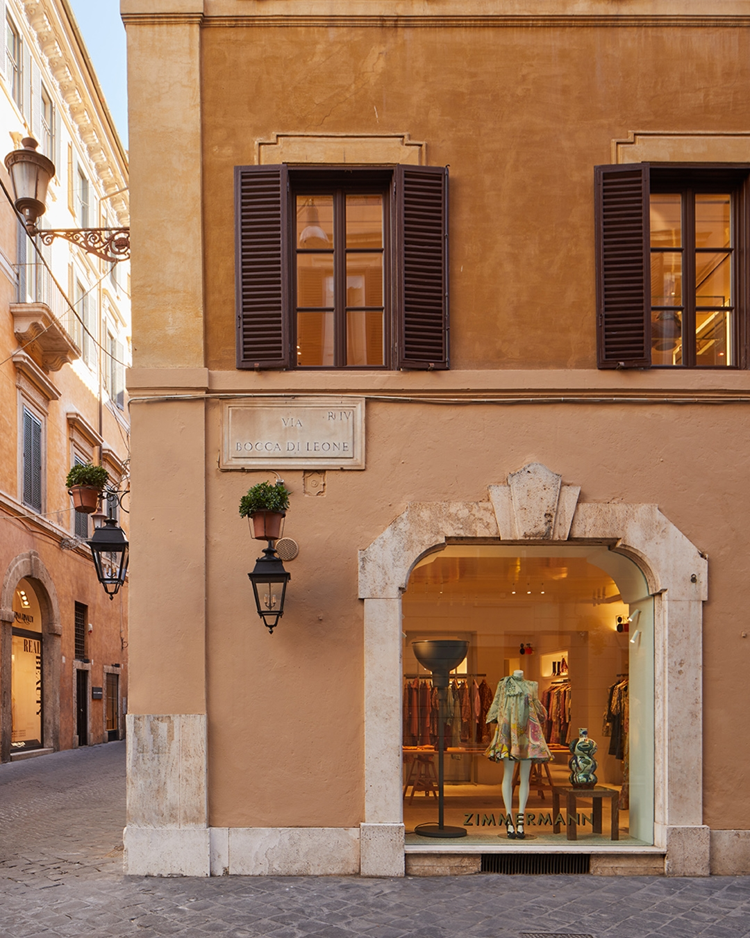 Our Rome Boutique store front