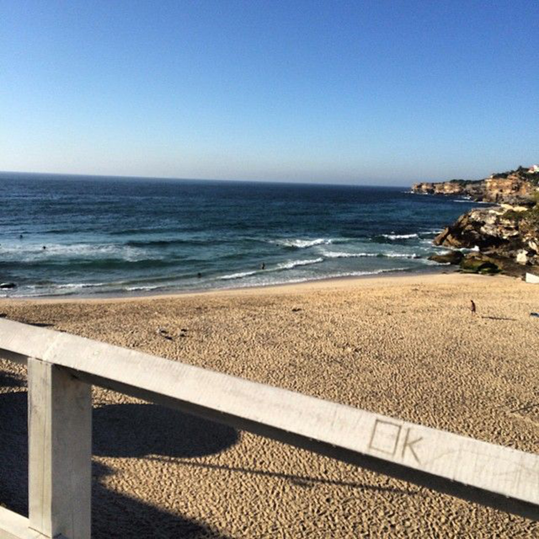 A sunny morning at Bronte Beach