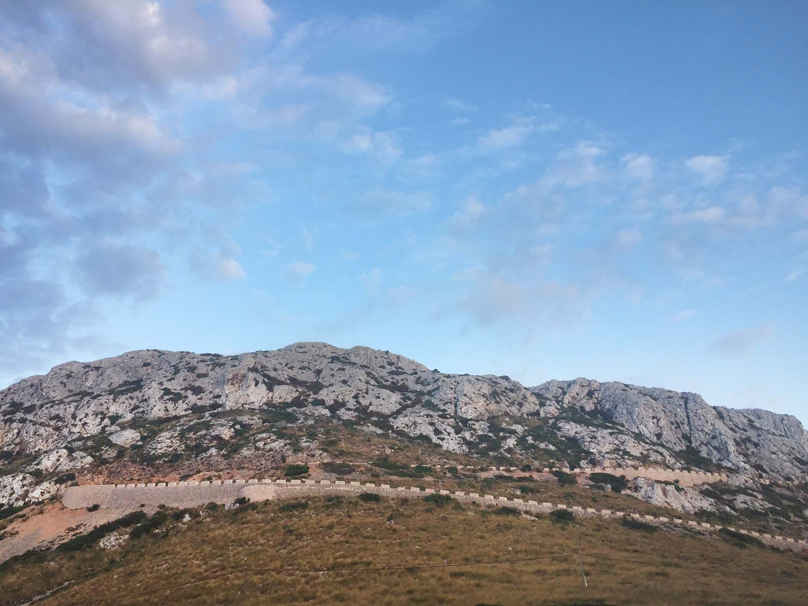 The headland of Mirador Del Mal Pas where the sea roars below