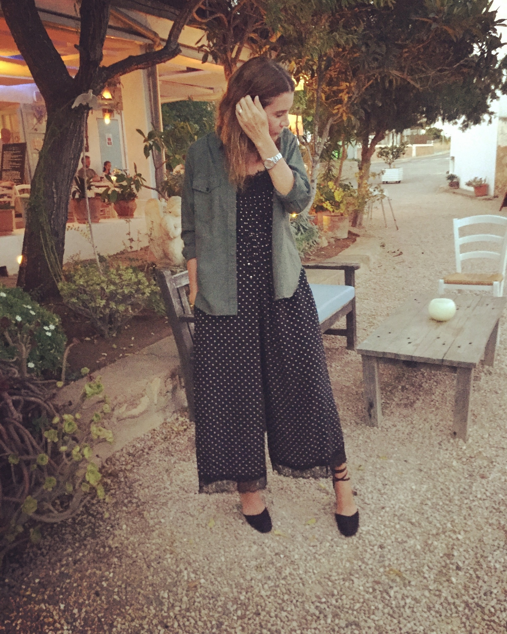 Missy Woolford standing outside La Paloma