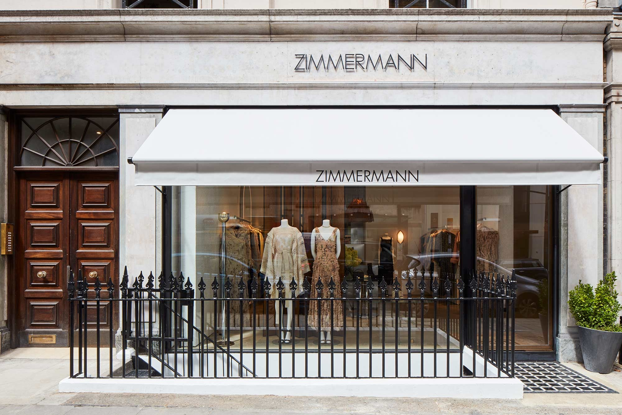 Our Mayfair store front