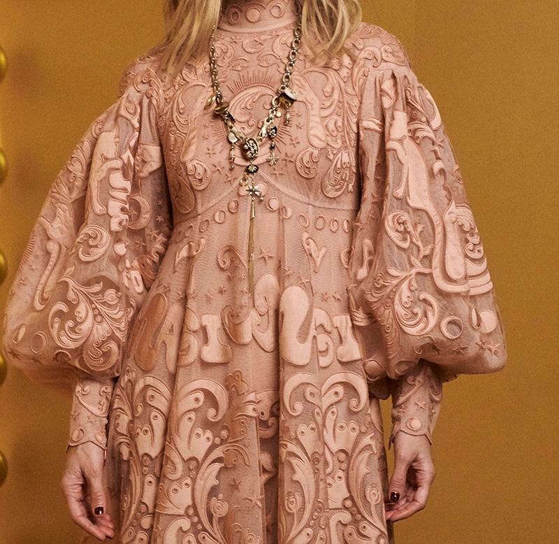 Look 29: Ladybeetle Fortune Tulle Dress