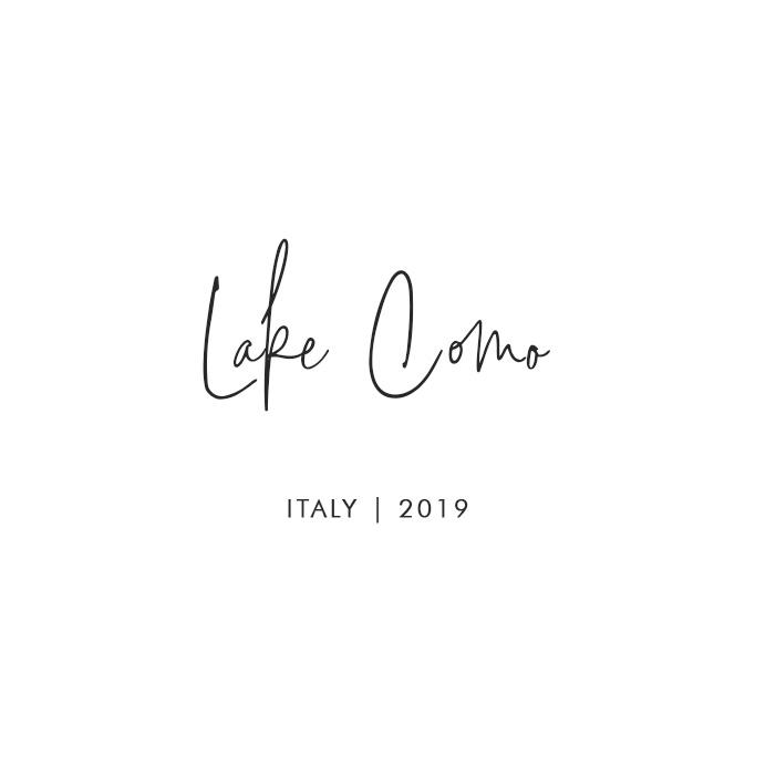 Lake Como, Italy 2019