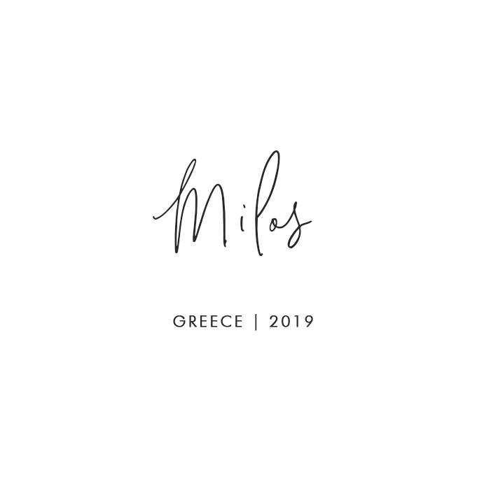Milos, Greece | 2019
